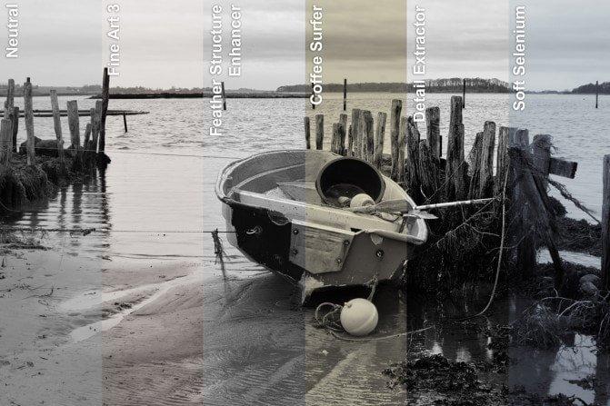 Nik Collection Presets: Silver Efex Pro Presets