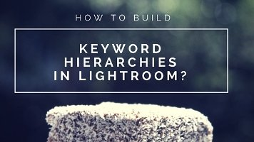 Use lightroom keywords