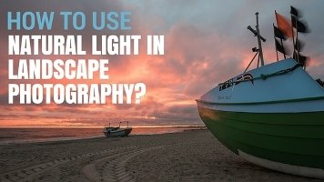 Use natural light in photography