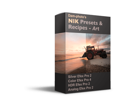 nik presets and recipes package