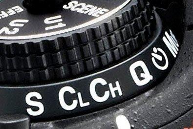 Nikon DSLR Release mode dial