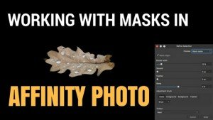Affinity Photo: Working with Layer Masks