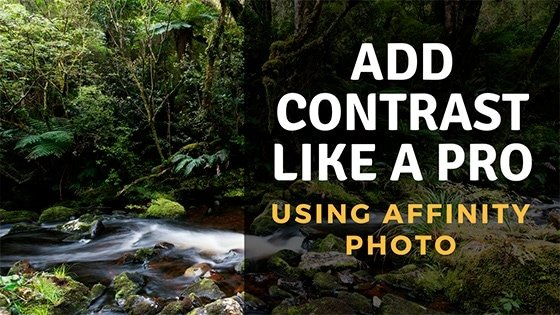 Add Contrast Like a PRO using Affinity Photo