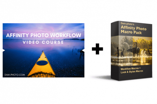 Affinity Photo Macros plus Workflow - Video Course