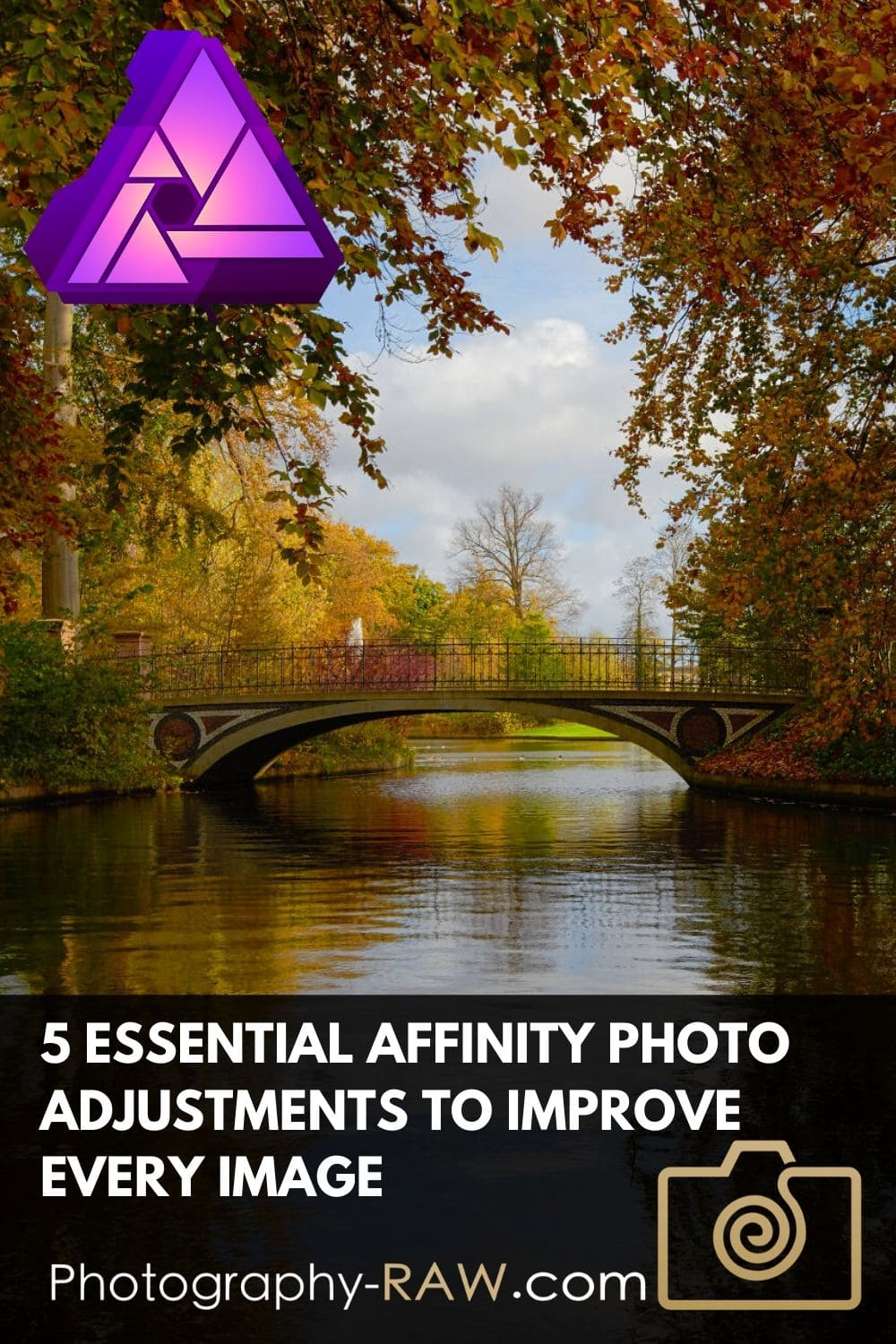 Learn how these essential 5 Affinity Photo adjustments can make your images look awesome in no time. An easy fix for almost every photo.