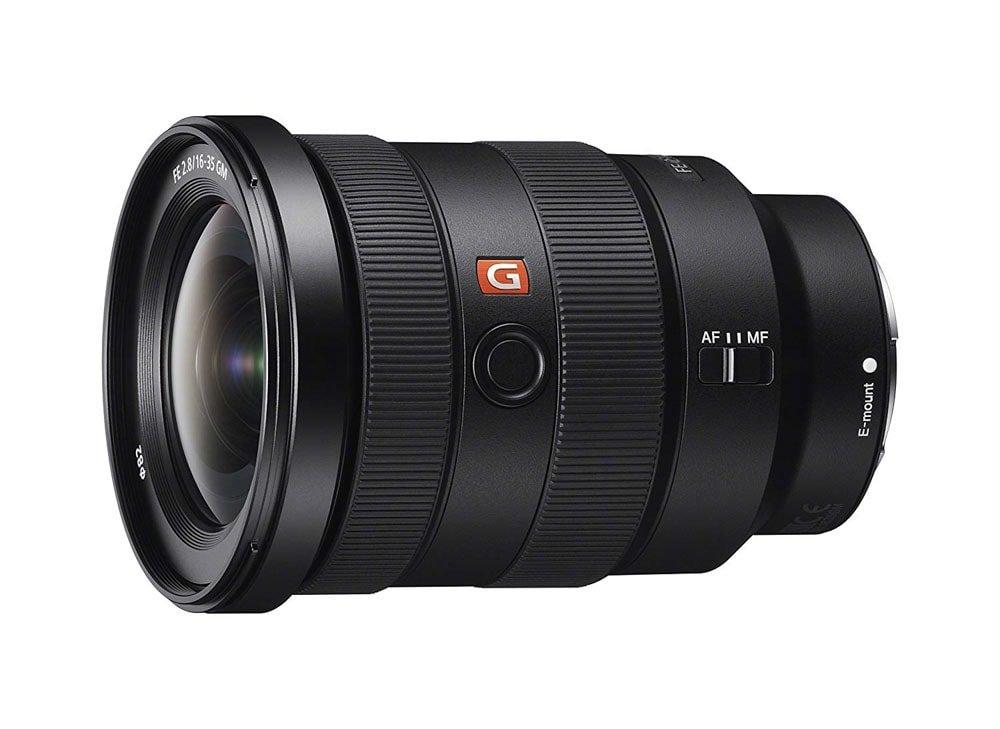 Sony's 16-35 mm f/2.8