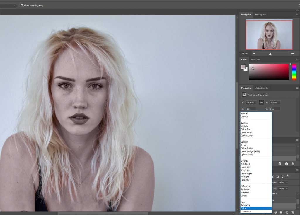 Enhancing skin tone in portraits to make colors pop in Photoshop