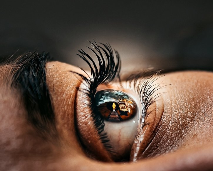 Eyes - Creative Macro Photography Idea for Portrait Lovers