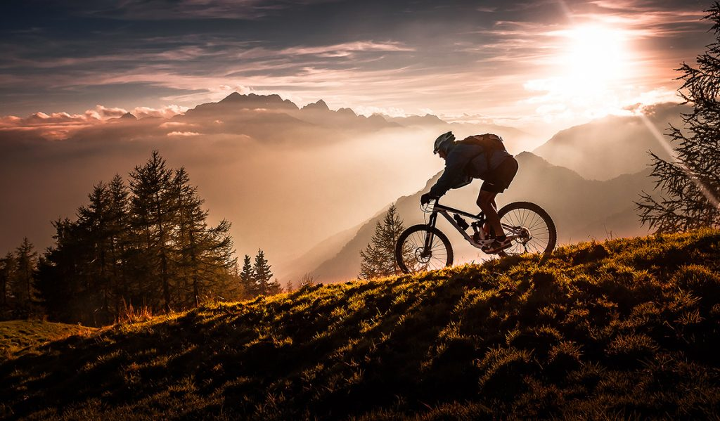 Golden hour biking - by Sandi Bertoncelj