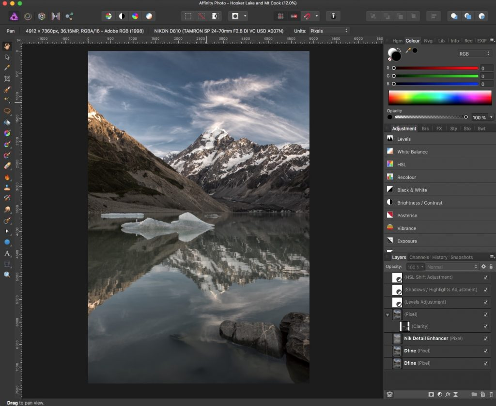 Affinity Photo vs Photoshop