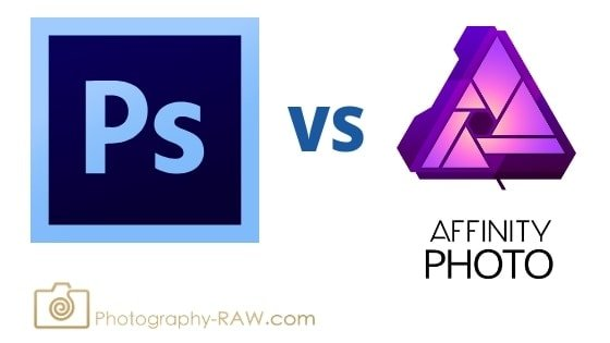 Photoshop vs Affinity Photo