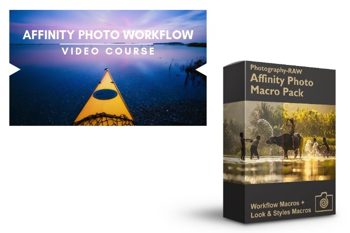 Affinity Photo Macro Pack + Video Course