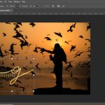 photoshop watermark action