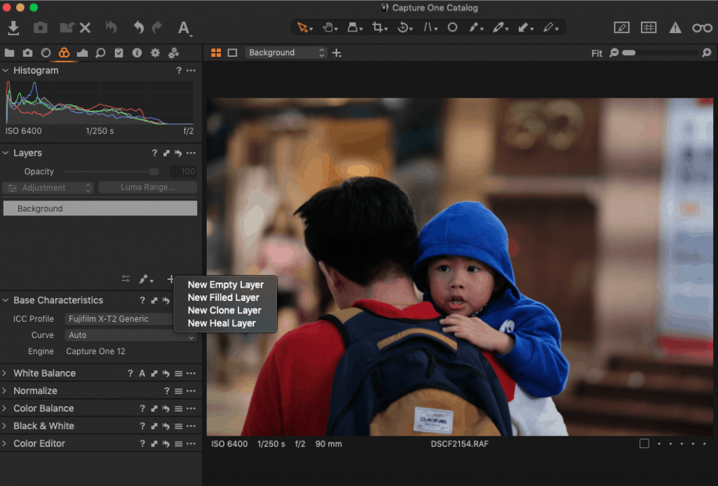 Capture One Layers