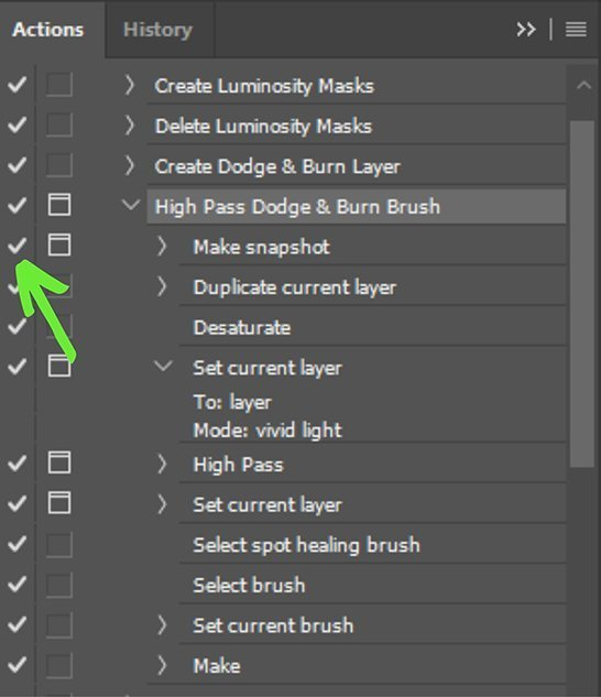 photoshop action stopping at each step - fix
