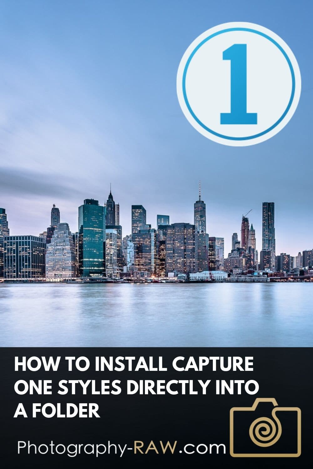 How to Install Capture One Styles Directly in its Folder Location