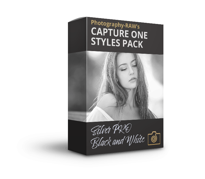 Capture One Styles Pack - Silver PRO Black and White Styles