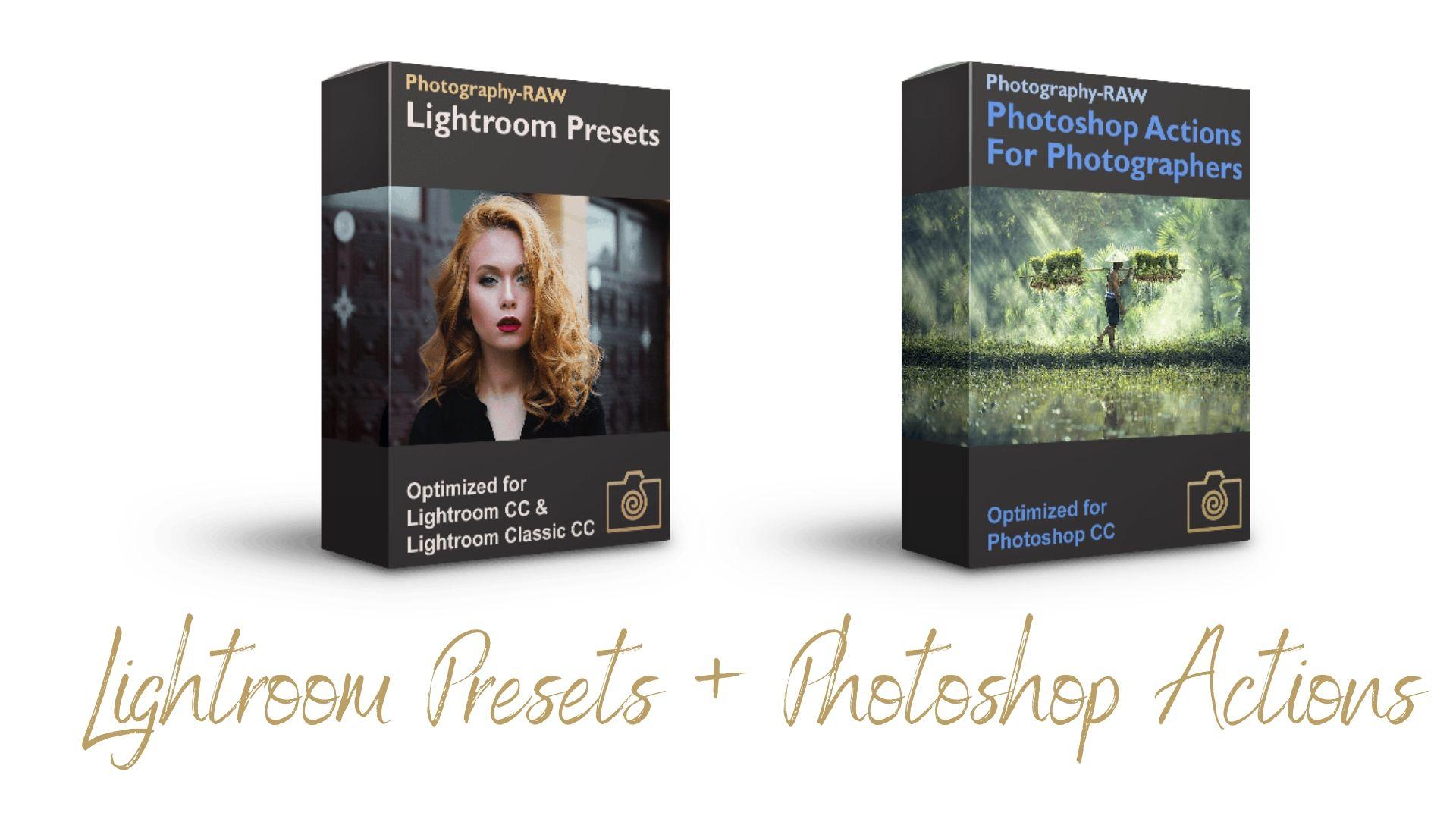 Photoshop Actions & Lightroom Presets – Bundle