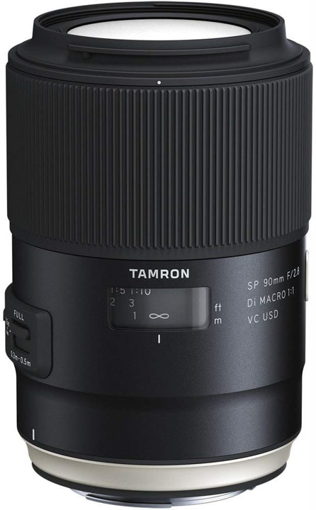 A macro lens from Tamron, that is also great for portrait photography