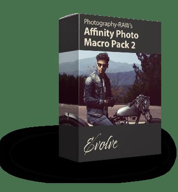 affinity photo macro package 2: Evovle