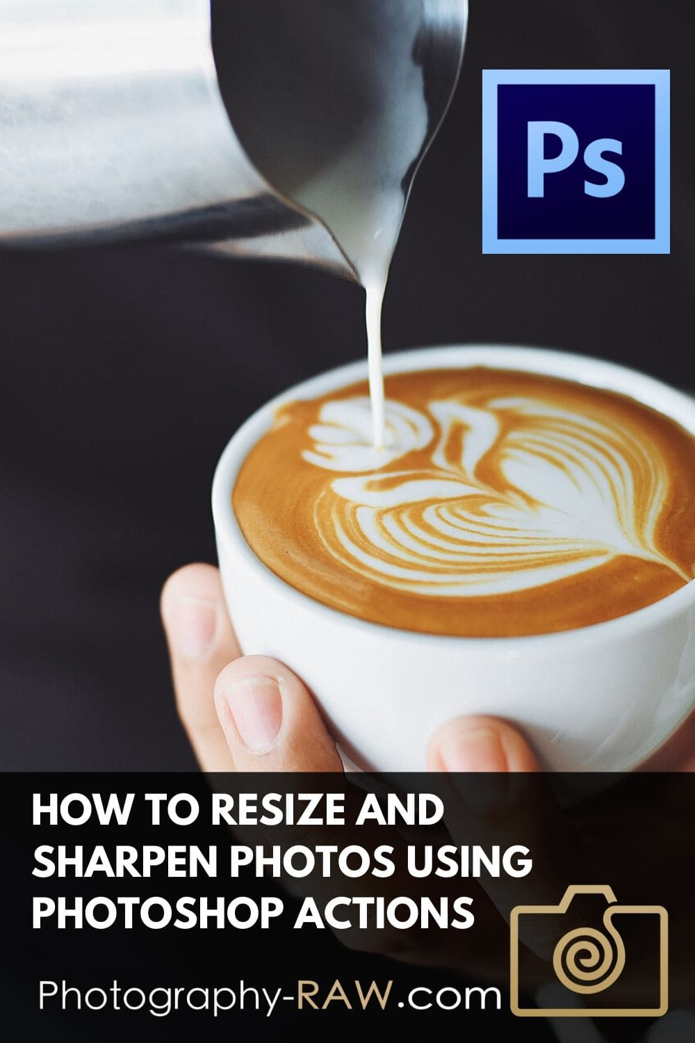 Use Photoshop Actions to Resize Images for Web Use Use a Photoshop action to speed up resizing and sharpening your images. Avoid getting soft-looking images when you use them online.