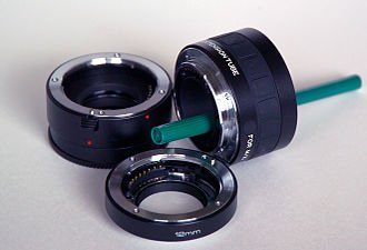 Extension tubes allows you to go beyond 1:1 magnification in macro photography