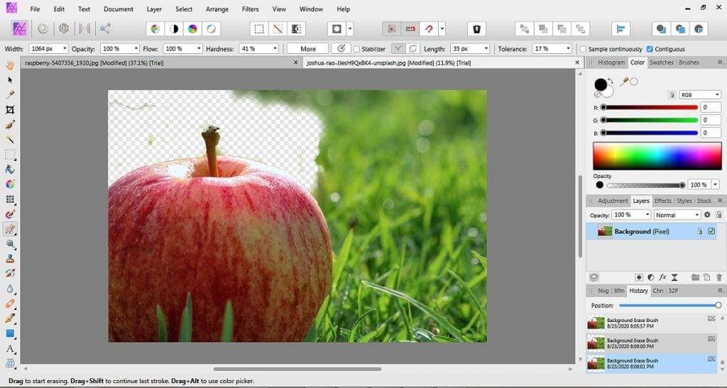 Affinity photo vs. GIMP