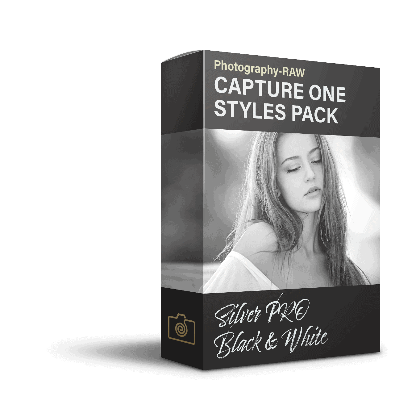 Capture One Style pack Silver PRO Black and white