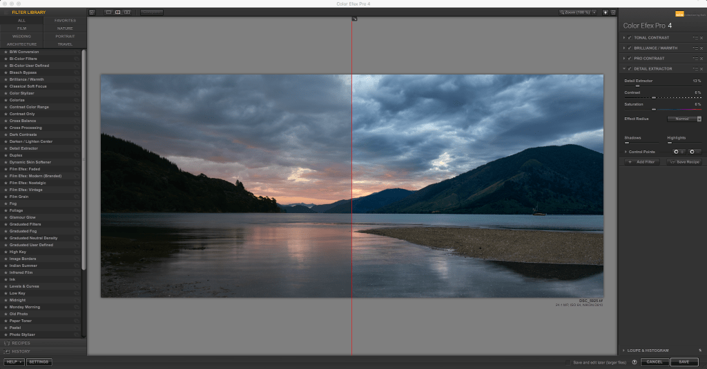 Nik Collection review - using color efex pro