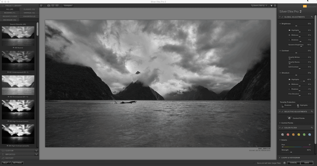 Nik Collection Review - Silver Efex Pro
