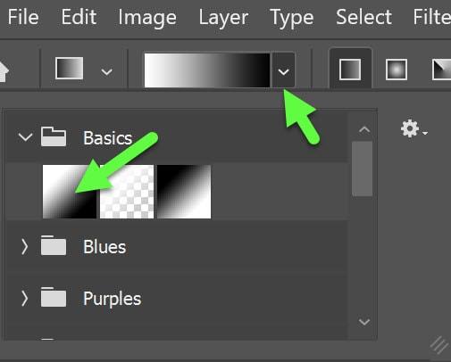 basic gradients